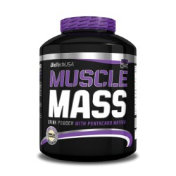 BioTech MUSCLE MASS 2270g